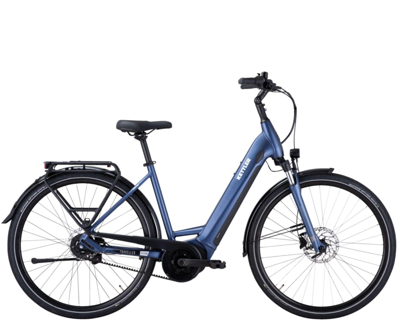 Kettler Traveller E Gold 5 RT Belt dame el-cykler hos AARHUS CYKLER i Aarhus C